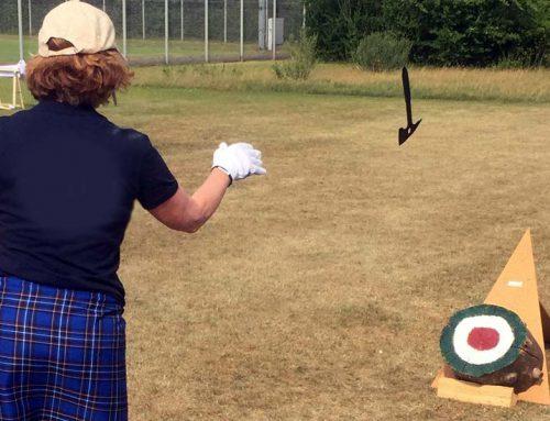 Beispiel Disziplinen Highland Games