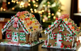 Weihnachtsfeier Lebkuchenhaus Weihnachtsbäckerei